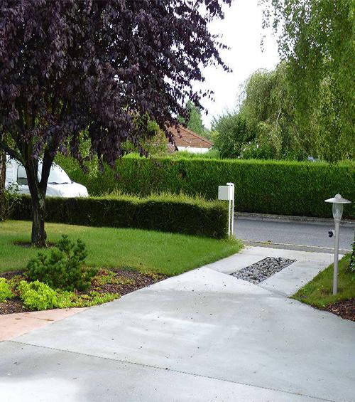 Jardin contemporain - Les jardins à l\'Ancienne - Viroflay 78