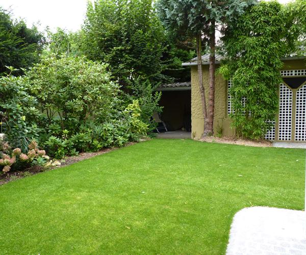 Les Jardins à l'Ancienne, Jardin urbain, pelouse, conception paysagère, nicolas gobert