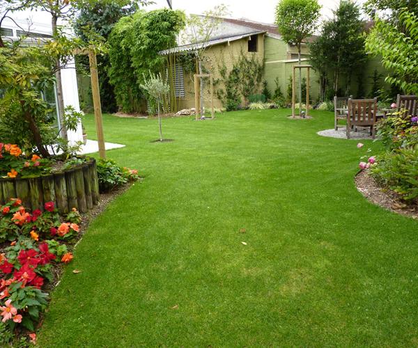 Les Jardins à l'Ancienne, Jardin urbain, espaces verts, conception paysagère, nicolas gobert