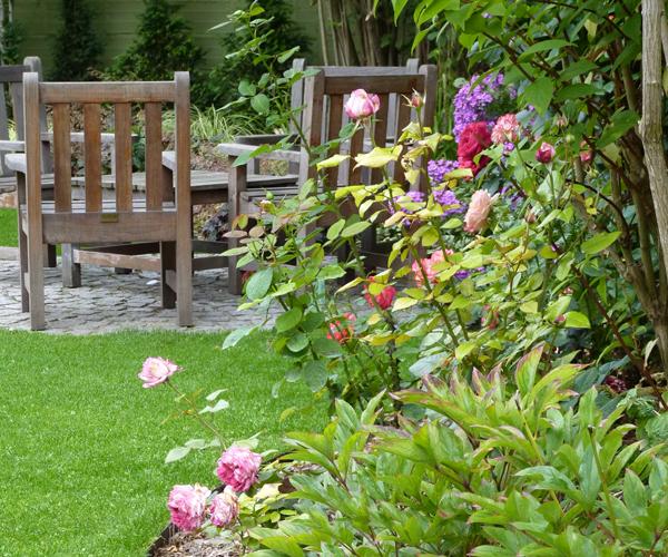 Les Jardins à l'Ancienne, jardin urbain, plantes, espace détente, conception paysagère, nicolas gobert
