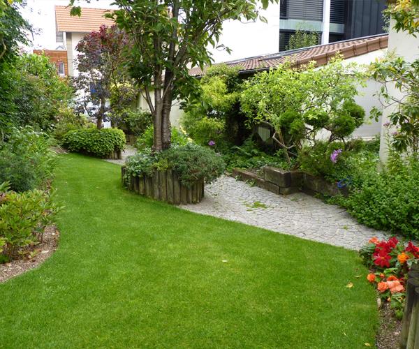 Les Jardins à l'Ancienne, Jardin Urbain, végétaux, conception paysagère, nicolas gobert