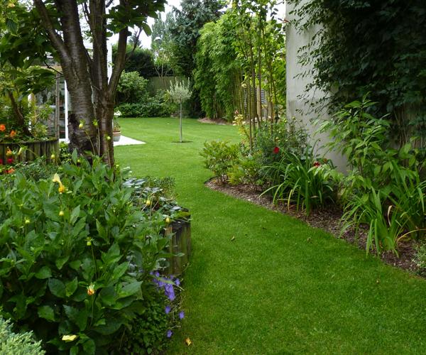 Les Jardins à l'Ancienne, jardin urbain, conception paysagère, nicolas gobert