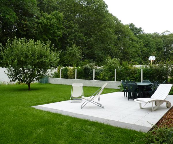 Les Jardins à l'Ancienne, jardin contemporain