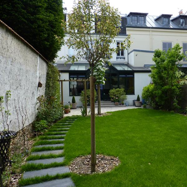 Les Jardins à l'Ancienne, jardin anglais, conception paysagère, nicolas gobert