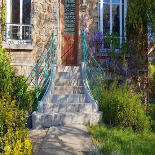 rampe escalier ferronnerie