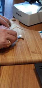 Etude échantillon de la tarière de Pressler